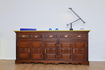 meuble bahut vaisseller en bois ancien