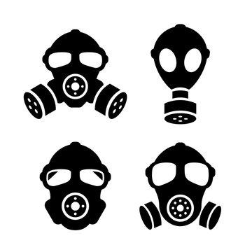 Gas masks icon