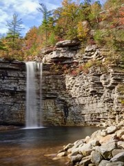 Awosting Falls in Minnewaska State Park Preserve in New York