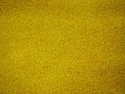 Yellow felt background, yellow texture