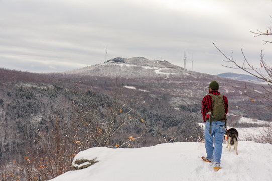 Winter Hike in the NH White Mountains