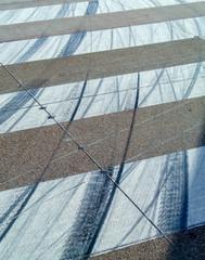 Canvas Prints Textures Runway Tyre Marks