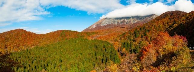 奥大山の紅葉