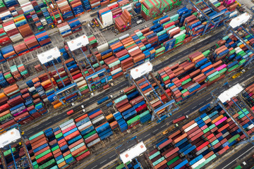 Kwai Tsing Container Terminals in Hong Kong