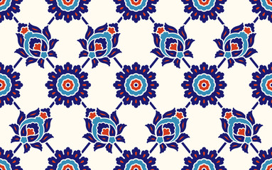Traditional Turkish – Ottoman seamless pattern
