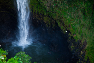 Drone and Waterfall