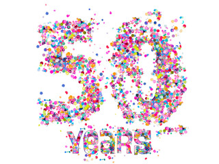 50 Years - Confetti