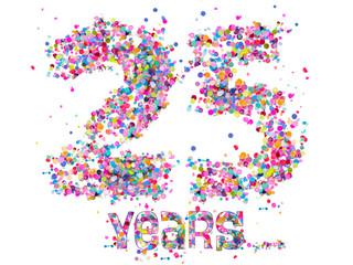 25 Years - Confetti