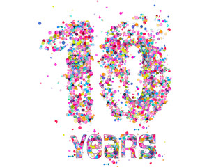 10 Years - Confetti