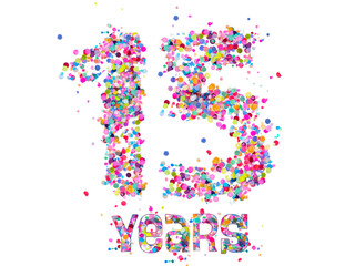 15 Years - Confetti