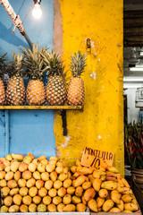 pinapple market in mexico