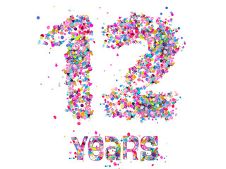 Number: 12 Years