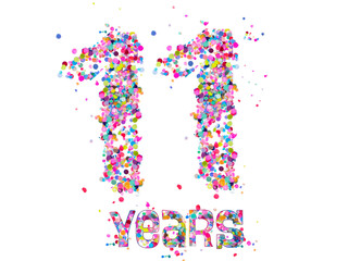 Number: 11 Years