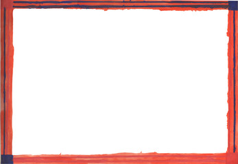 frame, isolated, border, white, red, blank, decoration, christmas,