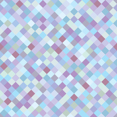 Seamless multicolored checkered pattern. Vector illustration. Mosaic pattern. Print in a cage in a rustic style for interior decorating, home textiles, clothing.