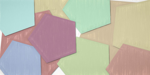 abstract polygons backdrops - colors and shapes