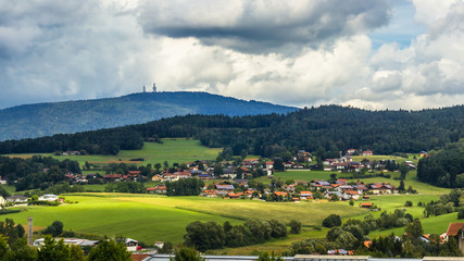 Beautiful view near Bad Kötzting-Bavaria-Germany