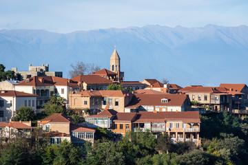 Ville de Sighnaghi, Kakhétie, Géorgie