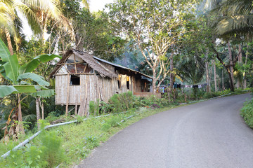 Cottage in the mountains of Cebu Island, Philippines