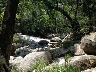 Australia's waterfalls in Queensland territory with amazing nature