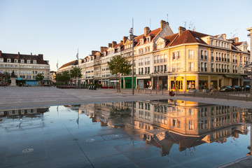 Place Jeanne Hachette in Beauvais
