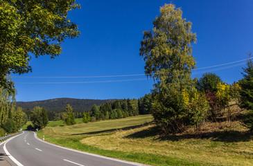 Beautiful view near Lohberg-Bavaria-Germany