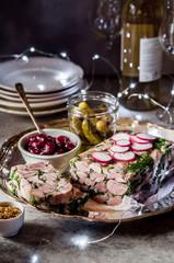 Christmas Ham Hock Terrine