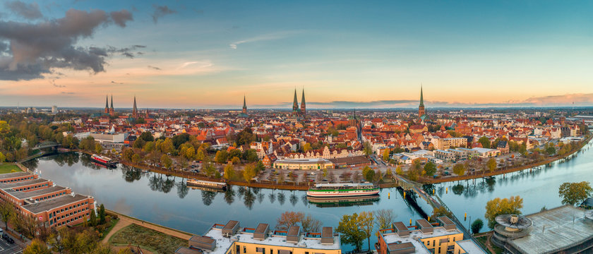 Herbst in der Hansestadt Lübeck