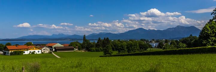 Beautiful view near the Chiemsee-Bavaria-Germany