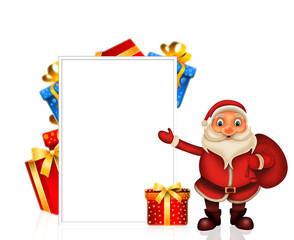 Merry Christmas happy christmas,santa with rendeer cheerful,Santa Claus and elvis in Christmas snow scene