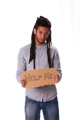 Rastafari young man