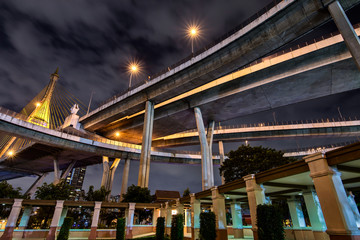 Industrial Ring Bridge in Bangkok Thailand