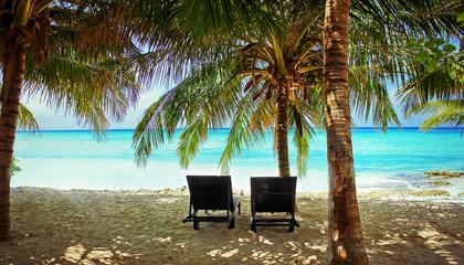 Traumstrand auf den Malediven -  Dream beach on the Maledives