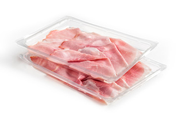 Tray Packaged of Presliced Baked Ham