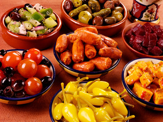 SPANISH TAPAS SELECTION