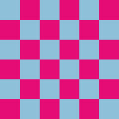 Checkered seamless pattern. Geometrical background. Vector illustration.