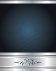 Background-Elegant Blue and Silver
