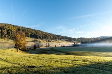 Bayerische Landschaft Werdenfelser Land