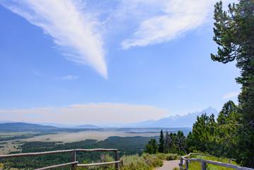View From Signal Mountain Grand Teton