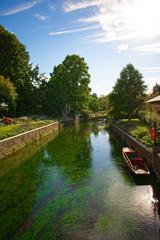 A small river in Cambridge