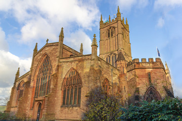 Saint Laurence Church in Ludlow, England