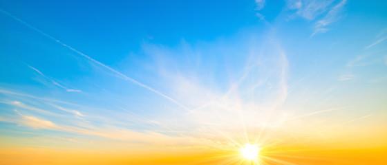 Obraz Wonderful sky at sunset as background - fototapety do salonu