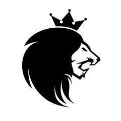 King Lion Logo Design Inspiration Vector