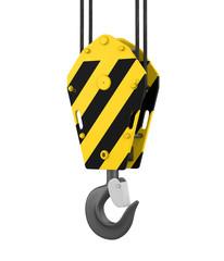 Crane Hook Isolated