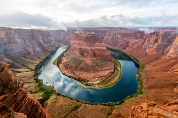 Wall Mural - Horseshoe Bend at Sunset