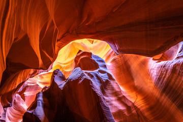 Photo sur Plexiglas Rouge mauve Upper Antelope Canyon