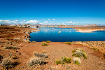 Fototapete - Lake Powell Recreation Area