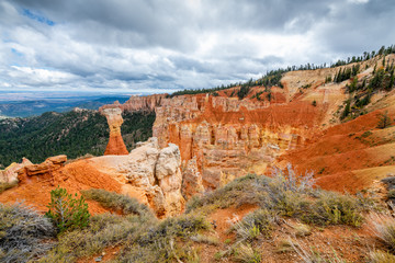Fototapete - Agua Canyon Overlook