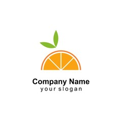 orange logo template