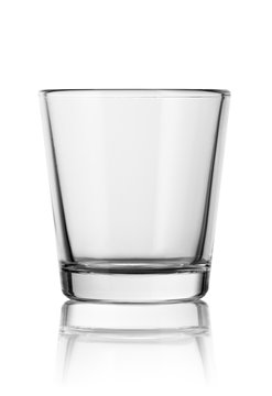 empty small shot glass